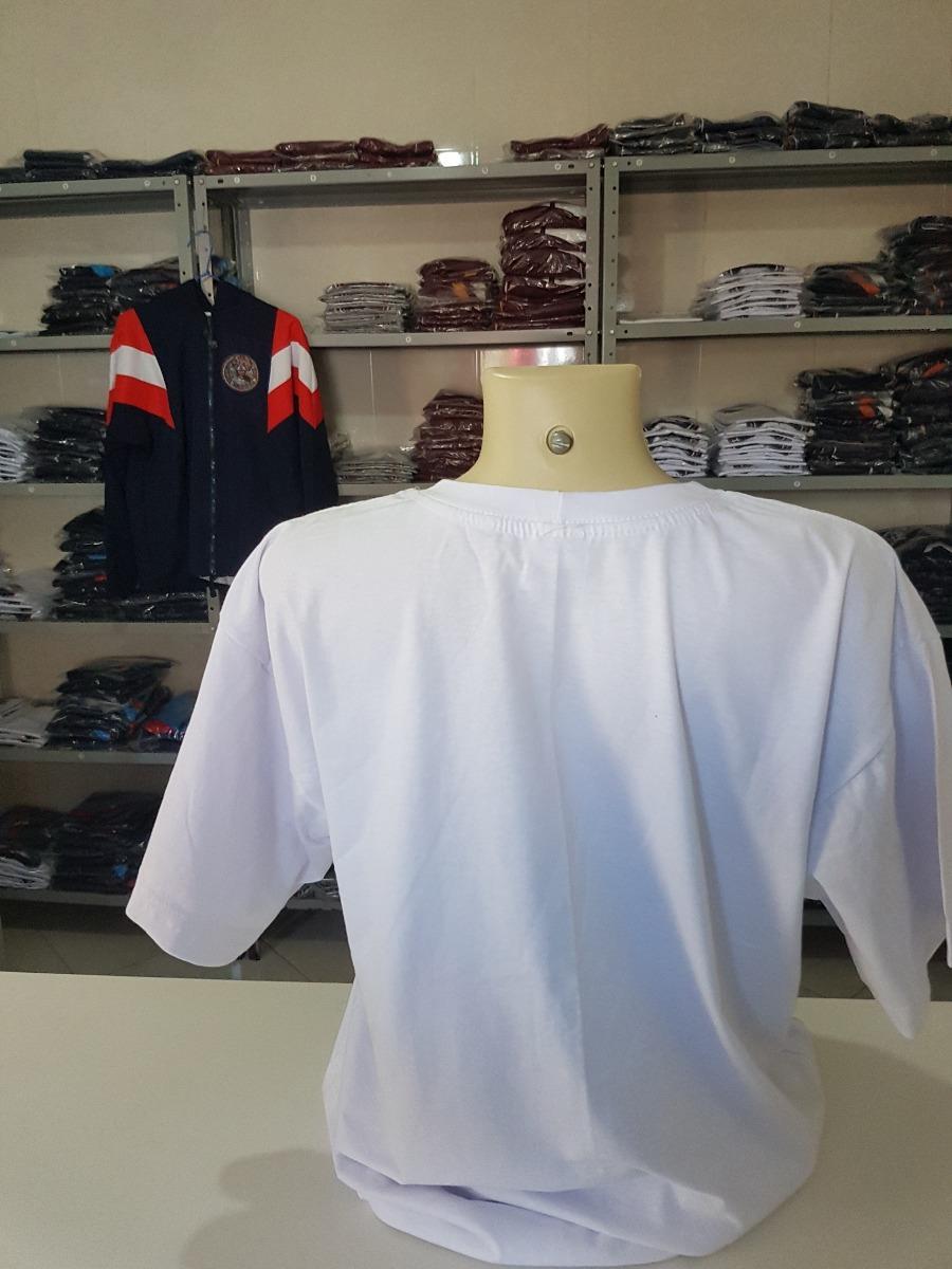 6007e13080 Kit 10 Camisetas Brancas 100% Algodão - Ótima Qualidade - R  119