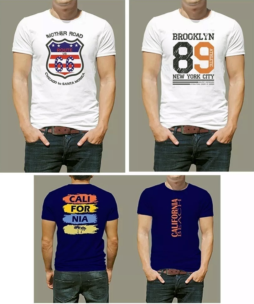 ccc724f79657d kit 10 camisetas camisa masculina pre lavada atacado revenda. Carregando  zoom.