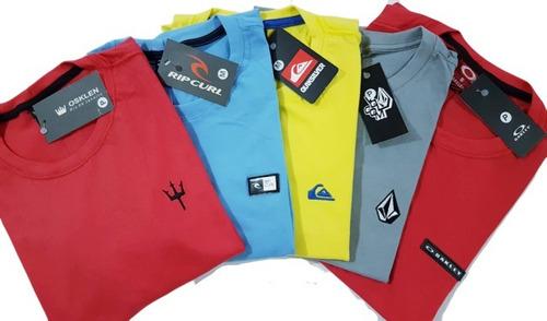 kit 10 camisetas camisas blusas masculina atacado baratas