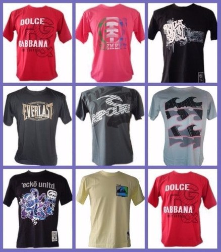 kit 10 camisetas camisas masculinas oferta atacado revenda
