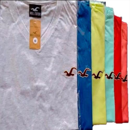kit 10 camisetas camisas varias marcas famosas surf gola v