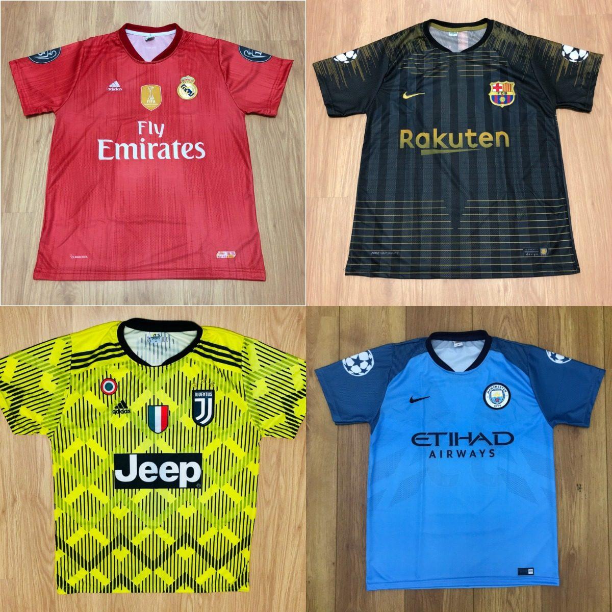 Kit 10 Camisetas De Time Atacado Futebol 100 Modelos 2018 - R  195 ... 220849ba01526