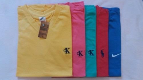 kit 10 camisetas gola v atacado aproveite revenda e lucre!!!