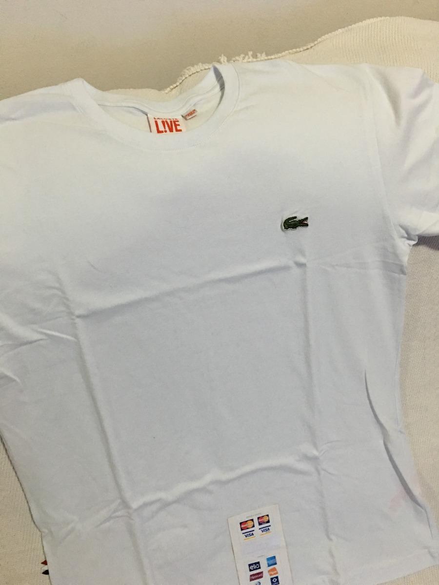 d33ee8c2ab341 Kit 10 Camisetas Lacoste Live - Tam. 4 Ao 7 Diversas Cores - R  699 ...