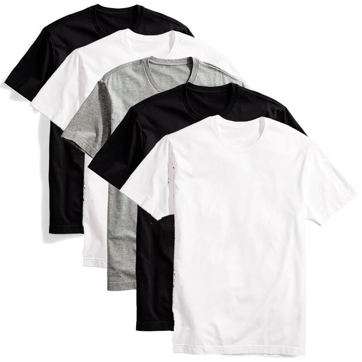 c91f35d7d2 kit 10 camisetas lisas masculina baratas algodão malha macia. Carregando  zoom.
