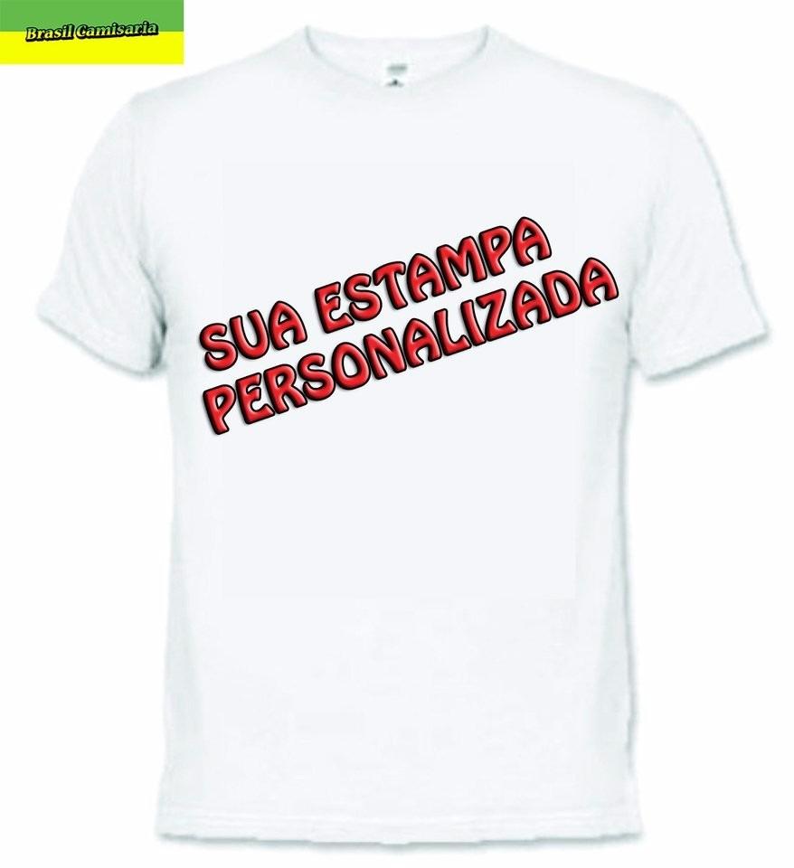 b4530e976 Kit 10 Camisetas Personalizadas À Sua Escolha Em Rj - R$ 139,99 em ...