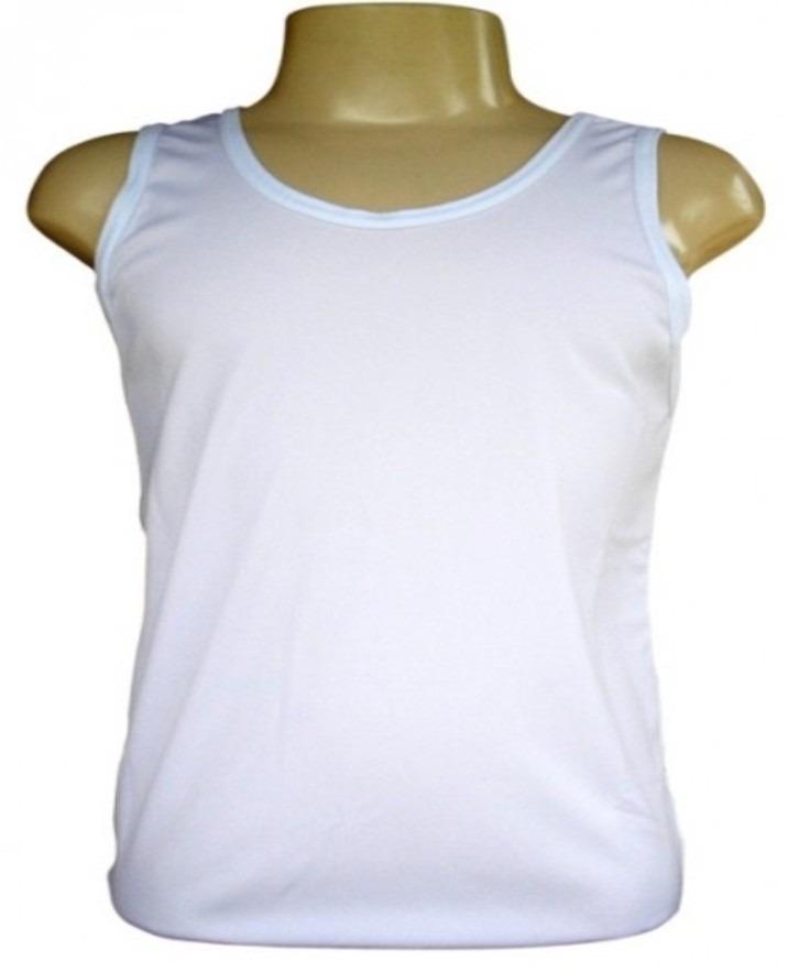 7a774a0d7a5a3 kit 10 camisetas regatas branca 100% poliéster sublimação. Carregando zoom.