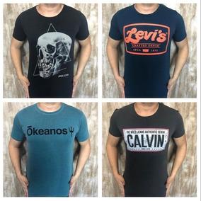 500c856620fb94 Camisetas Reserva E Calvin Klein Original no Mercado Livre Brasil
