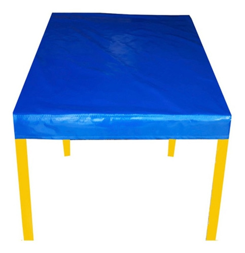kit 10 capa para mesa quadrada plástica/madeira 70x70(cm)