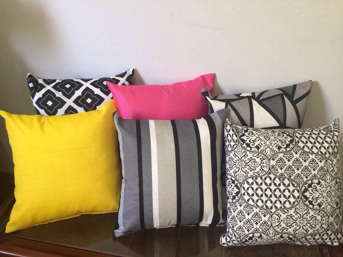 87dc7df55 kit 10 capas de almofadas decorativas p  sala escolha a cor. Carregando zoom .