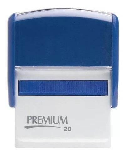 kit 10 carimbos automáticos premium 20 (só carcaça)