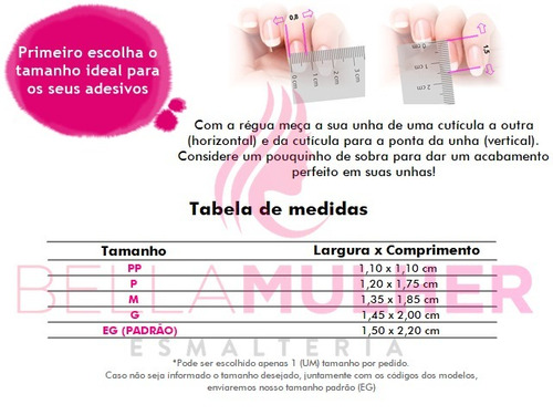 kit 10 cartelas 120 adesivos de unhas impresso peliculas