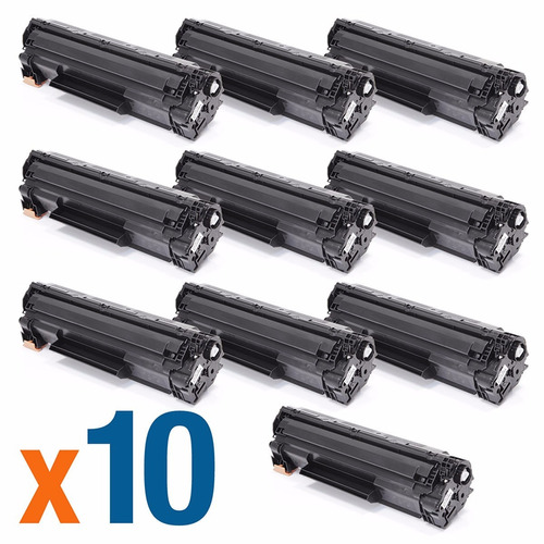 kit 10 cartuchos toner  285 285a 85a 1102w m1132