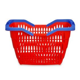 Kit 10 Cestas Cestinha Supermercado Mercado Hortifrut