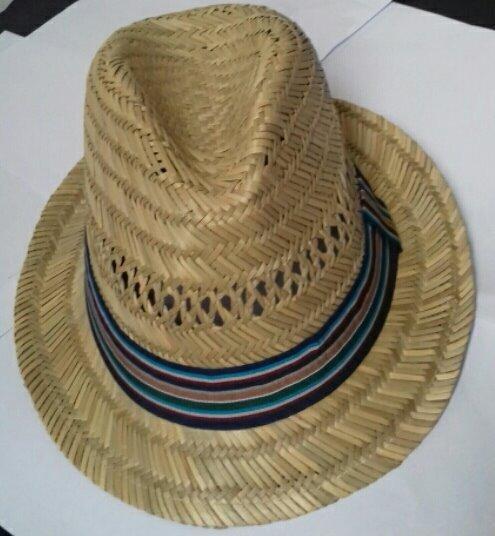 8b246efa1517a Kit 10 Chapéu De Palha Natural Estilo Panamá Atacado Revenda - R ...