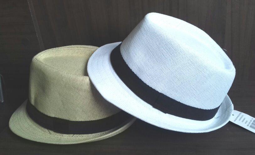 kit 10 chapéus unissex tipo panamá atacado revendedor. Carregando zoom. fcacf38f5da