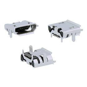 Kit 10 Conector De Carga Micro Usb Caixa Som Jbl Flip 2 Novo