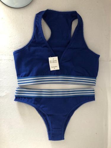 kit 10 conjuntos calvin underwear algodão calcinha e sutiã