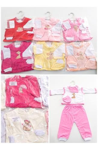 kit 10 conjuntos pagao completo bebê rn menino(a) atacado