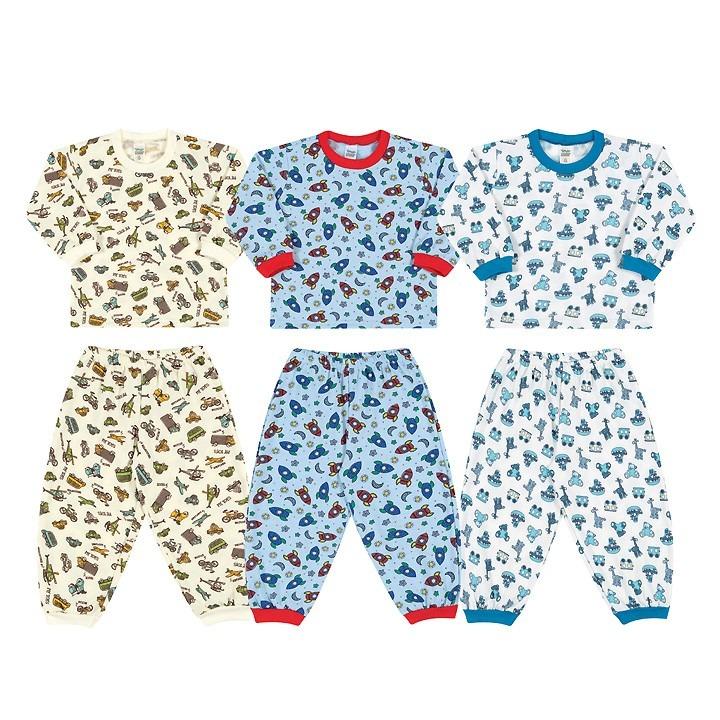 19c4c62ed Kit 10 Conjuntos Pijama Infantis- Atacado E Fábrica Própria - R$ 199 ...