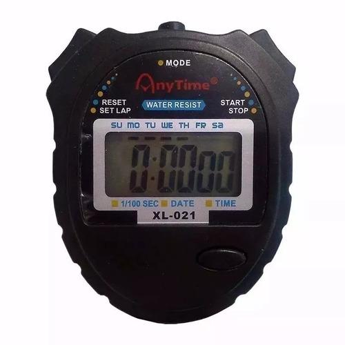 0c02279a0c6 Kit 10 Cronômetro Mão Digital Corrida Prova D água Xl-021 - R  134 ...