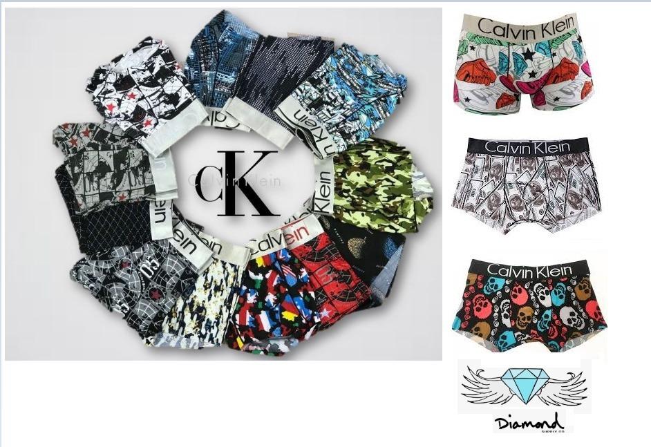 5787975c55bc7 Kit 10 Cueca Calvin Klein Boxer Pronta Entrega Ck - R  169,00 em ...