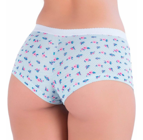 kit 10 cueca short box feminina lingerie conforto atacado
