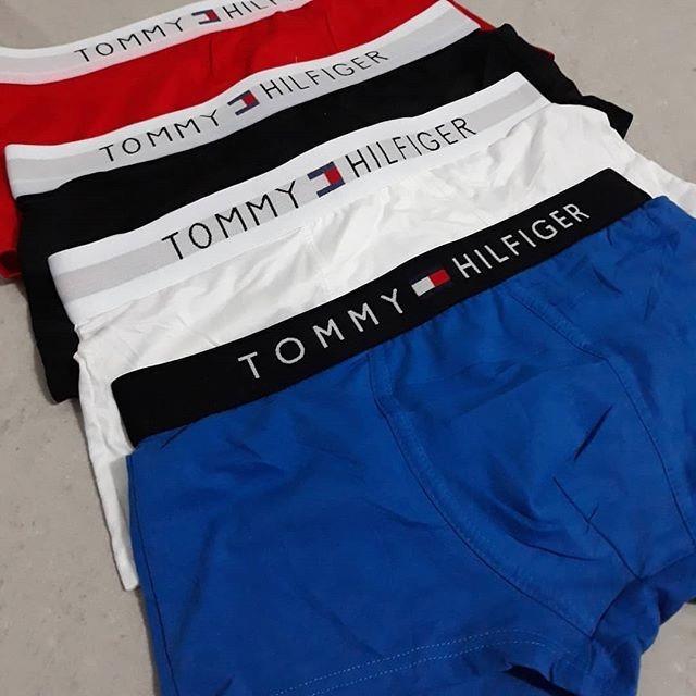 40d8f6480f5ad4 Kit 10 Cuecas Tommy Hilfiger 100% Algodao