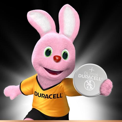 kit 10 duracell cr2016 pilha 3v lithium bateria moeda dl2016