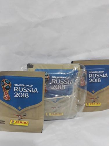 kit 10 envelopes figurinhas copa mundo rússia 2018