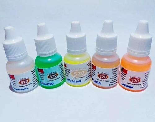 kit 10 essência liquida narguile caneta eletrônico