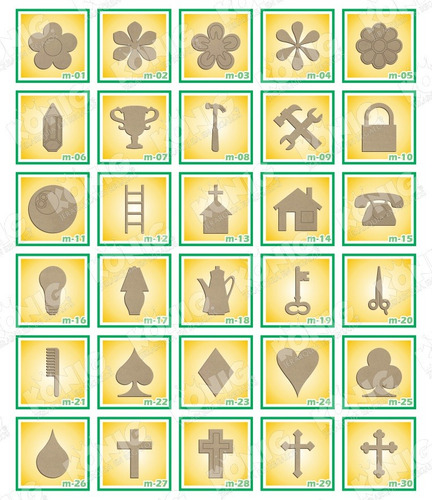 kit 10 figuras madera country 25cm economicas para artesania