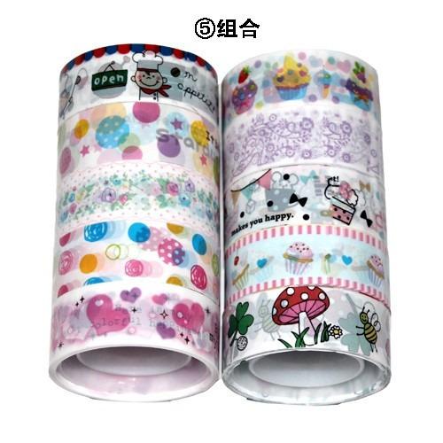 kit 10 fitas adesivas decotape p variadas 5
