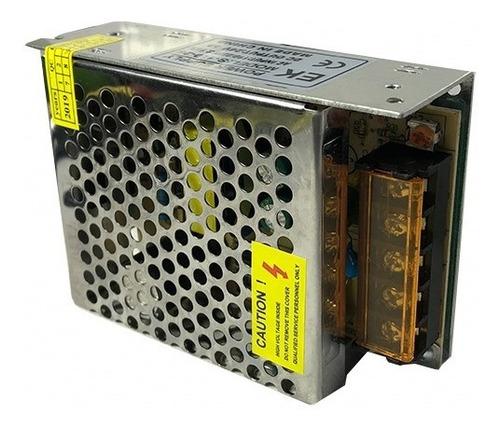 kit 10 fonte chaveada estabilizada 24v volts 5a bivolt    p