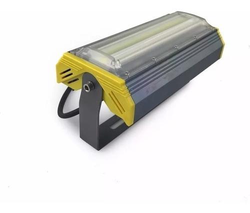 kit 10 hilofote refletor projetor led liner 50w real 6000k