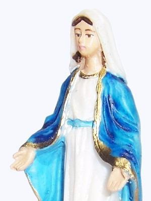 kit 10 imagens nossa senhora das graças 10cm em resina