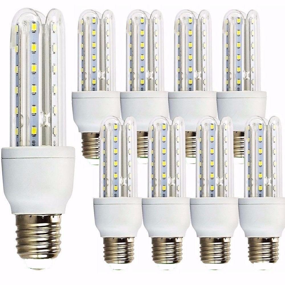 Kit 10 lampada led 12w soquete e27 3u milho original for Lampada led