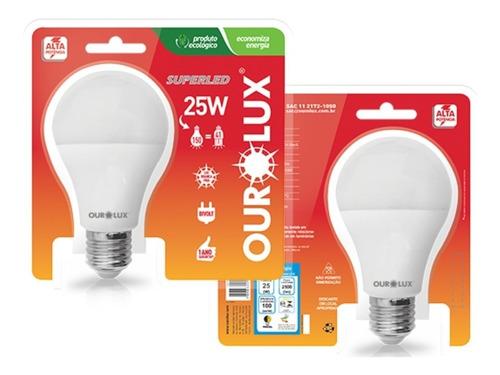kit 10 lampada led 25w superled alta potencia bivolt 6500k
