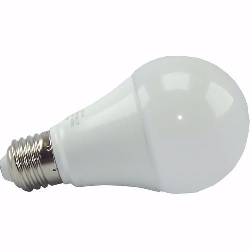 kit 10 lampadas 12w led econômica bivolt a60 e27 branca 3u