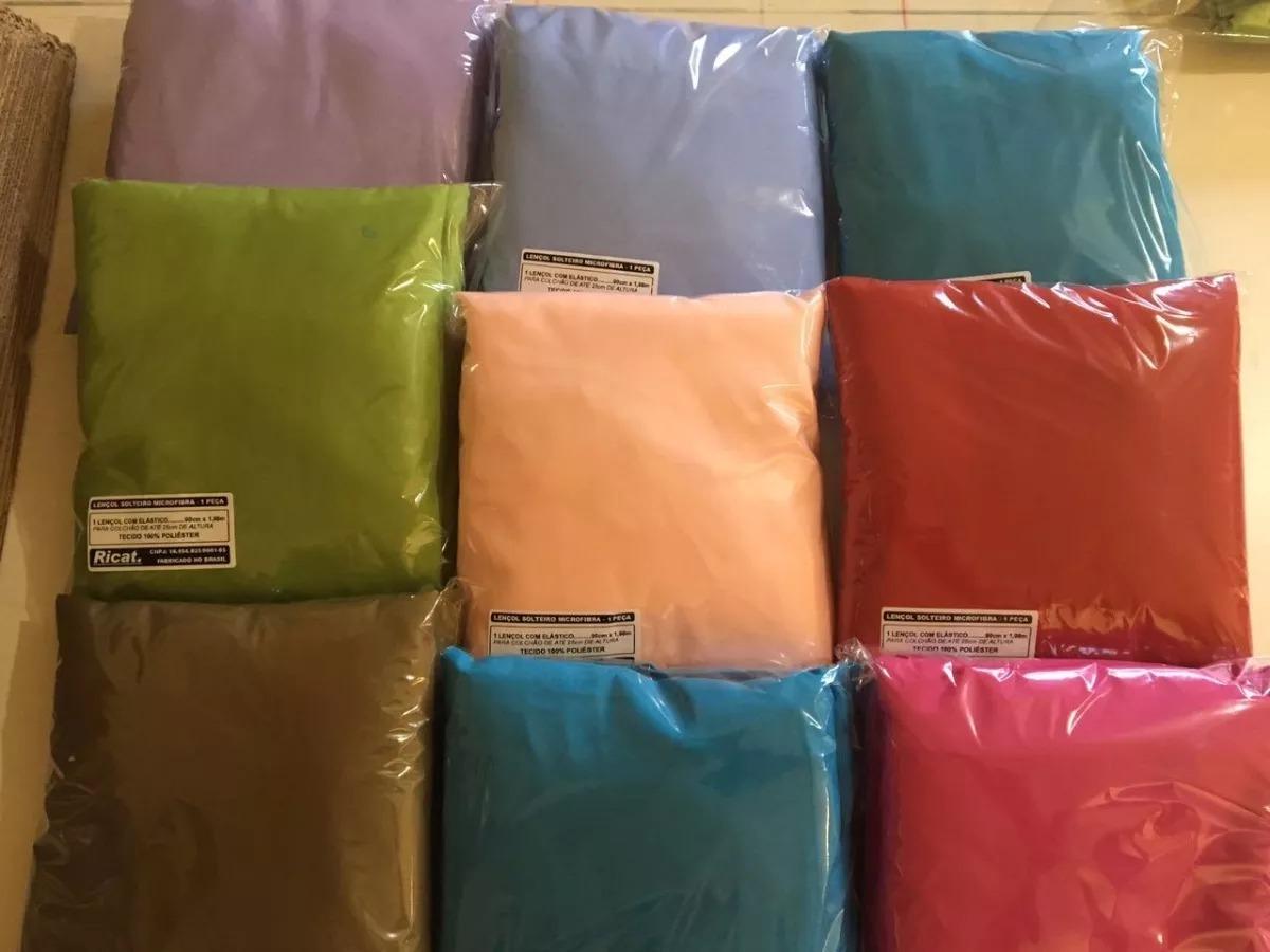0eda36a944 kit 10 lençol casal padrão c  elástico avulso cama box. Carregando zoom.