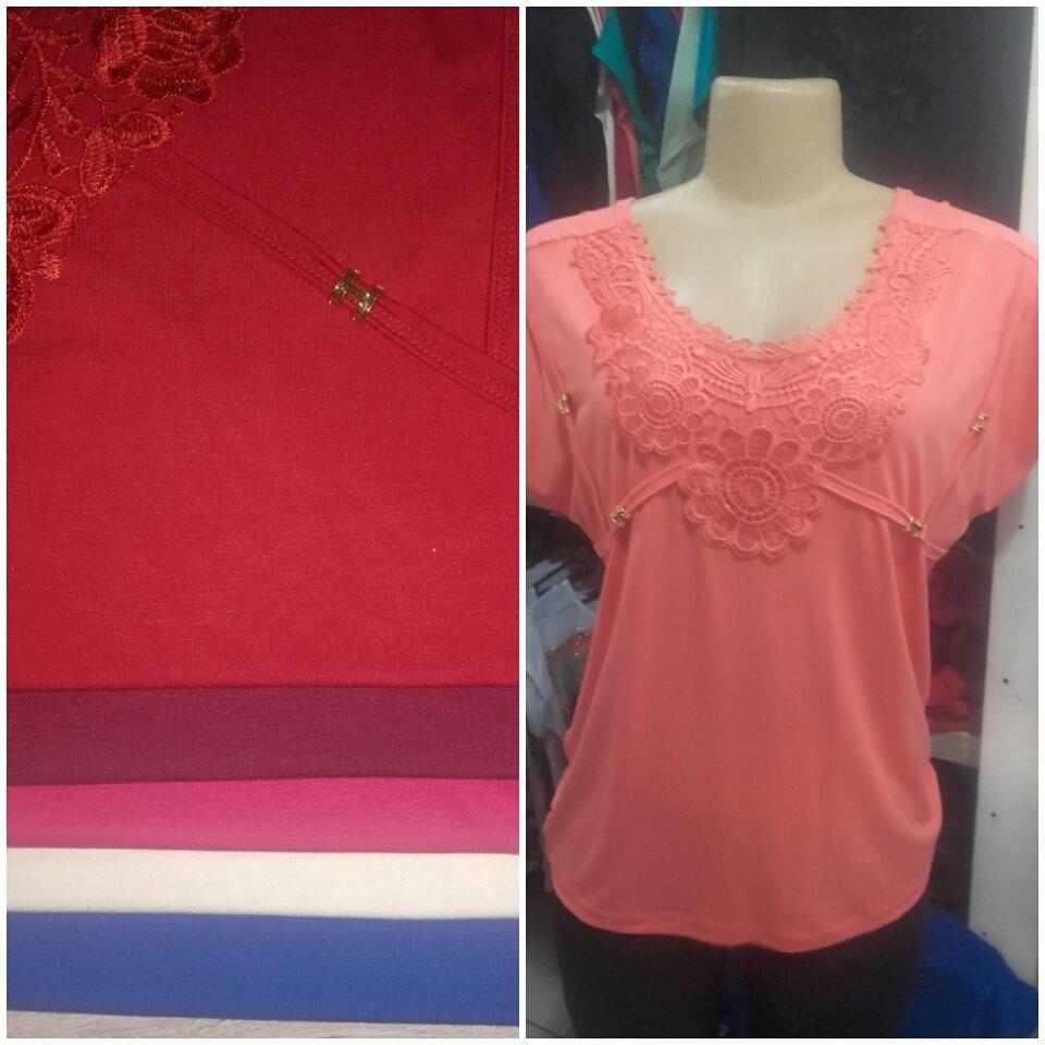 f81d0c78b9ac kit 10 lindas blusas femininas moda maior c/ renda gripir. Carregando zoom.