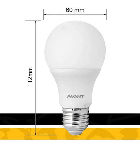kit 10 lâmpada led 9w bulbo soquete e27 bivolt casa comércio