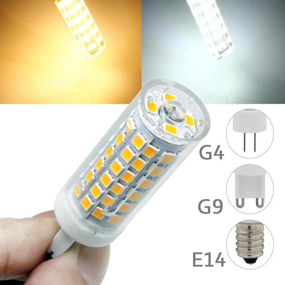 Lampada Led E14 Para Lustre.Kit 10 Lampadas Led Halopin G9 G4 E14 7w Lustres Pendentes