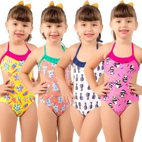 e40e07cda Moda Praia Infantil Feminino - Calçados, Roupas e Bolsas com o ...