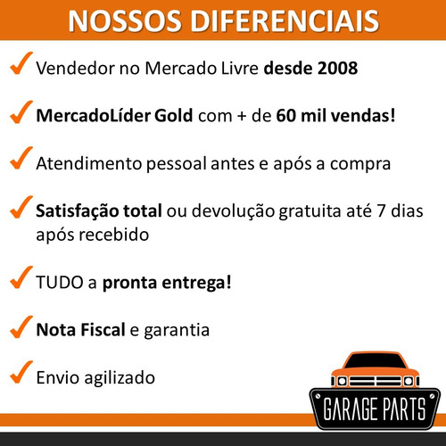 kit 10 manivela vidro sport cromada fusca brasília gol kombi