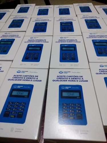 kit 10 máquinas de cartão nova