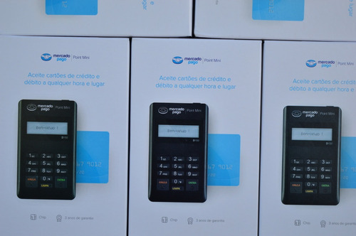 kit 10 maquininhas mercado pago point cartões maquineta