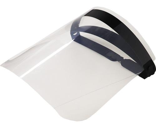 kit 10 máscara facial protetora anti-cuspir respingos medico
