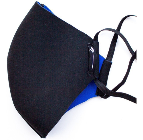 kit 10 mascara reutilizável tecido lavável de dupla camada