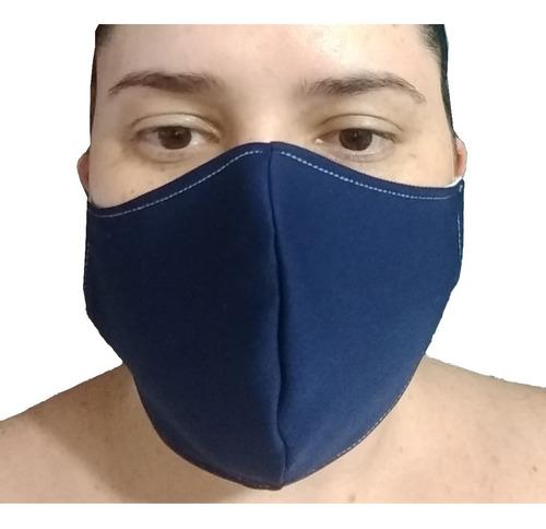 kit 10 mascaras tecido neoprene e algodão lavável unissex